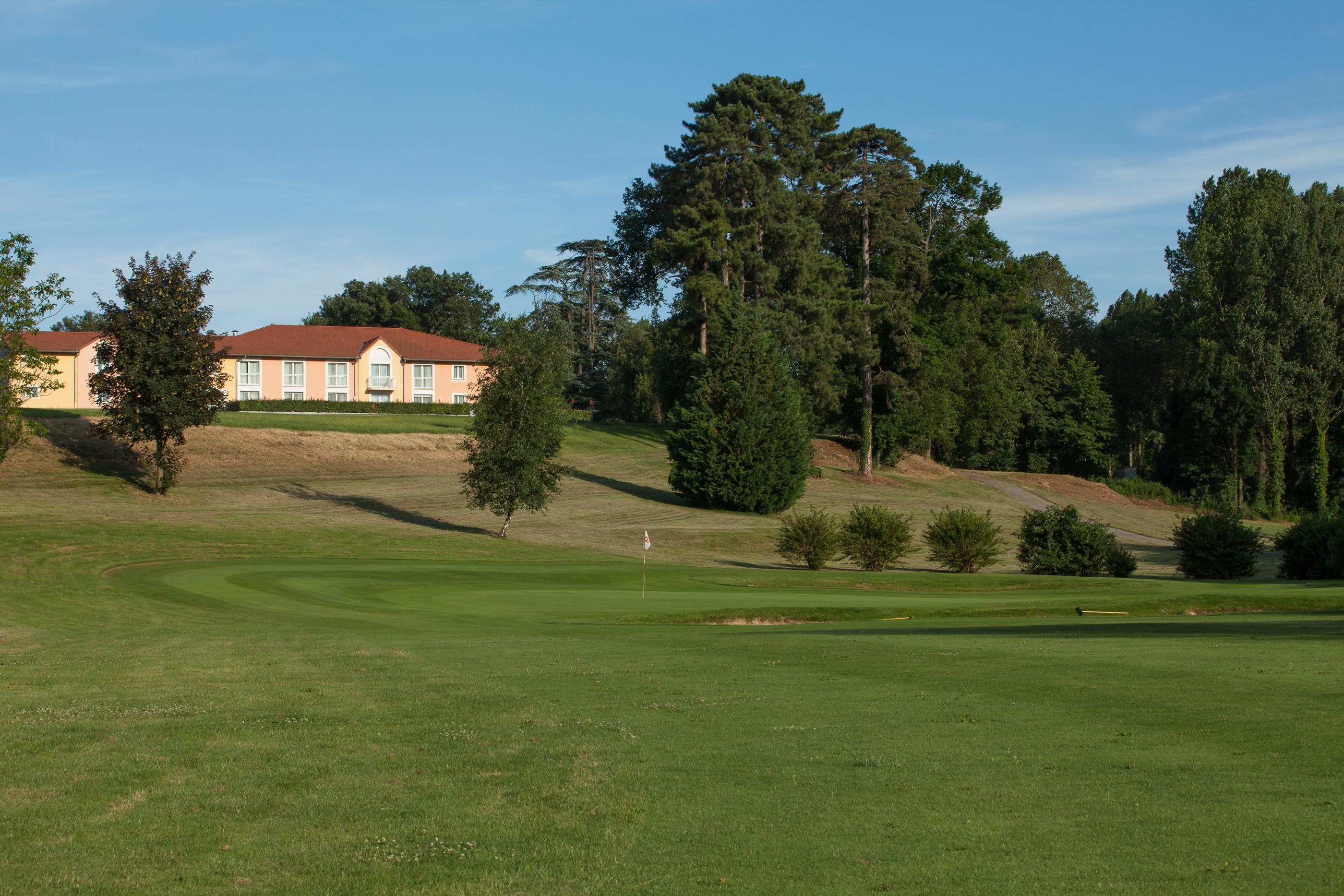 Site Hotel Golf Albon, proche A7